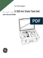 ADTS 505 Air Data Test