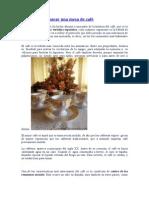 Guía para preparar una mesa de café