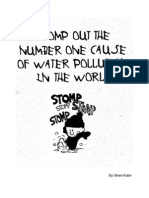 Stomp Out  The Number One Cause of Water Pollution In The World