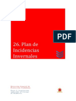 26 Plan de Incidencias Invernales