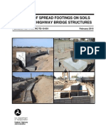 Spread Footings for Highway Bridges 2010