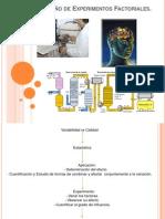 Diseño de Experimentos Factoriales