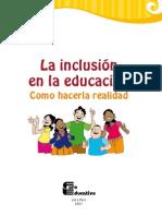 Inclusion Educacion Hacerla Realidad