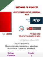 PEN Avances 2013