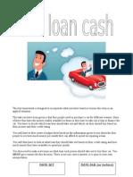 Car Loan Cash