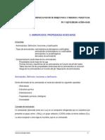 3. Aminoacidos. Propiedades Acido Base