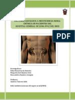 Factores Asociados a Insuficiencia Renal en Pacientes de La Clinica 42 Del Imss
