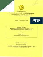 Proses Legislasi Peraturan Perundang-undangan Pertanahan yang Mendukung Kegiatan Pembangunan
