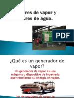 Generadores de Vapor y Calentadores de Agua