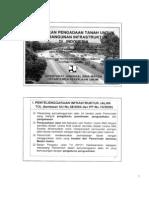 Kebijakan Pengadaan Tanah untuk Infrasutruktur di Indonesia