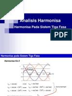 Harmonisa Pada Sistem Tiga Fasa