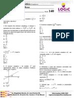 LOGIC Matemática - Números Complexos