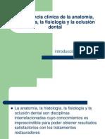 Importancia clìnica de la anatomía, histología,