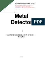 Metal Detector Mci Revised