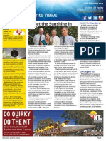 Business Events News for Mon 10 Feb 2014 - Let the Sunshine in, Uluru strikes gold at ATA,  Danish giants merge and much more