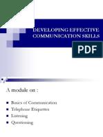 Developing Effective Communication Skills - Seema