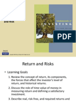 Finance Investments Chapter 4 PPT