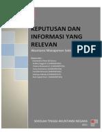 Chapter 11 (Keputusan & Informasi Yang Relevan)