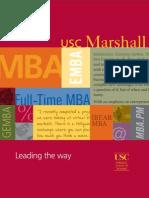 MBA Viewbook 2011 2012 Final
