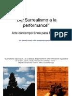 Del Surrealismo a La Performance