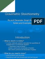 Stoich Notes
