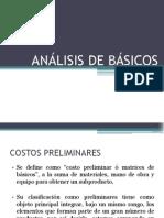 2. ANÁLISIS DE BÁSICOS