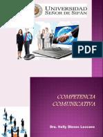 (1)COMPETENCIA COMUNICATIVA