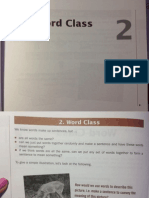 Word Class Chapter 2