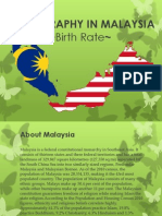 Demography in Malaysia