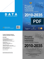 Proyeksi Penduduk Indonesia 2010-2035