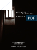Wrongfully Convicted - Amicale Case - Rama Valayden - Mauritius