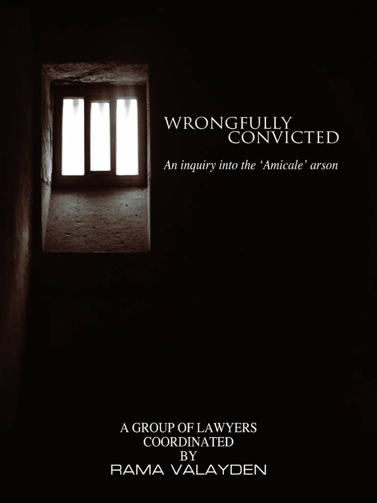 Wrongfully Convicted Amicale Case Rama