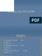 KONSELING PEDIATRI RESEP