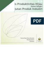 11-Buku Teks Analisis Produktivitas Hijau Dalam Rangka Keberlanjutan Produk Industri (2013)