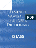 Feminist Movement Builders Dictionary Jass