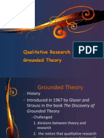 Grounded TheoryTropf