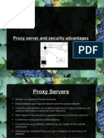 Proxy Server and Security Advantages