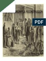 Unidad 6 Andrew Johnson y la Reconstrucción - Juan Gabriel Pineda Pardo