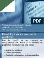 Problemas que involucren cálculos matemáticos y fórmulas