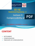 Lecture 3.0 Compressibility of Soil