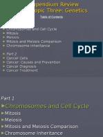 Compendium Review - Genetics 18&19