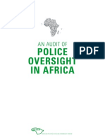 Policing in Africa an Audit
