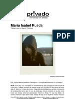 Privadoentrevistas Maria Isabel Rueda