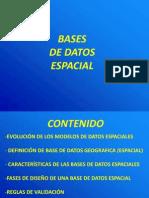Bases de datos geográficas