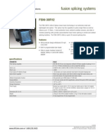AFL FSM-30R Fusion Splicer Spec Sheet