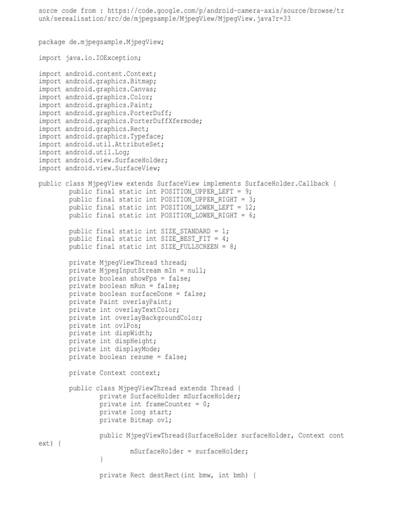 Android Ipcam | Computer Architecture | Areas Of Computer