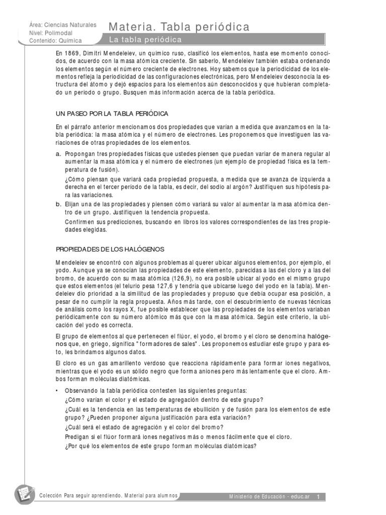 Tabla periodica 2 urtaz Choice Image