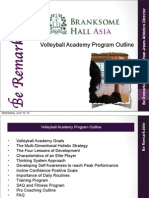branksome volleyball academy program outline