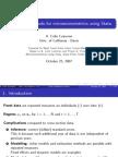 Panel Data Methods for Microeconomics Using Stata