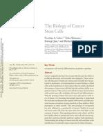 The Biology of Cancer Stem Cells